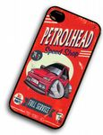 KOOLART PETROLHEAD SPEED SHOP Mk3 Ford Fiesta RS Turbo hard Case For iPhone 4 4S